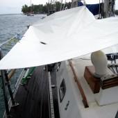 El velero Ju, San Blas Panamá.